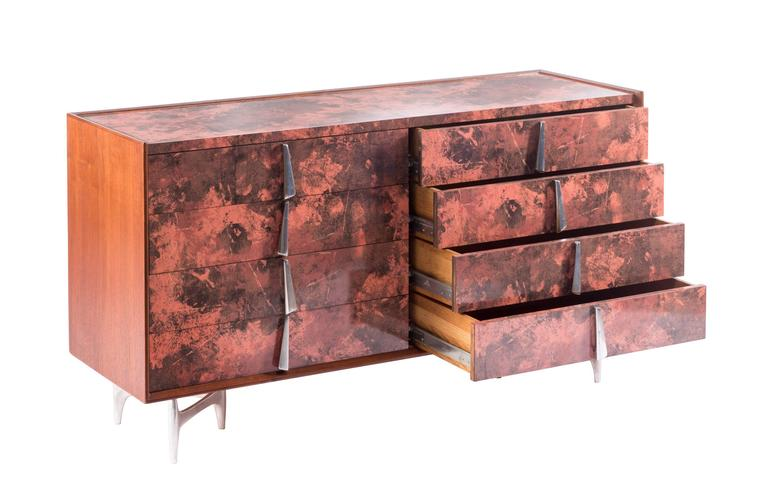 American Donald Deskey Chest for Charak Modern For Sale