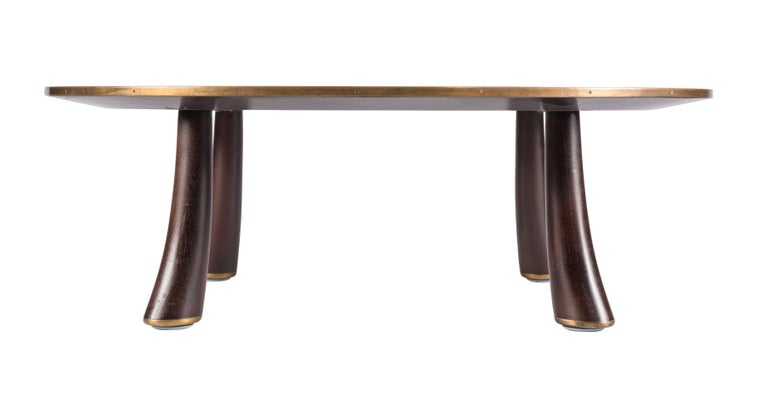 Rare Coffee Table by Edward Wormley for Dunbar In Excellent Condition For Sale In Pawtucket, RI