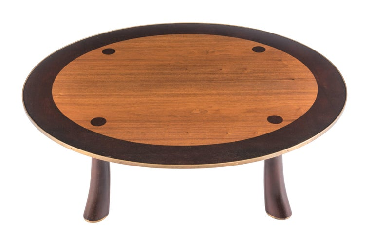 American Rare Coffee Table by Edward Wormley for Dunbar For Sale