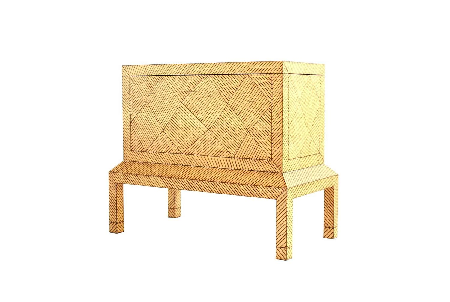 Blanket Chest By Judy Kensley Mckie At 1stdibs