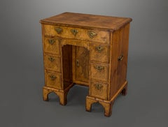 Fine and Important George I Walnut Kneehole Desk
