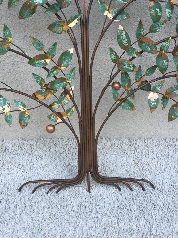 American Curtis Jere Tree of Life Wall Sculpture For Sale