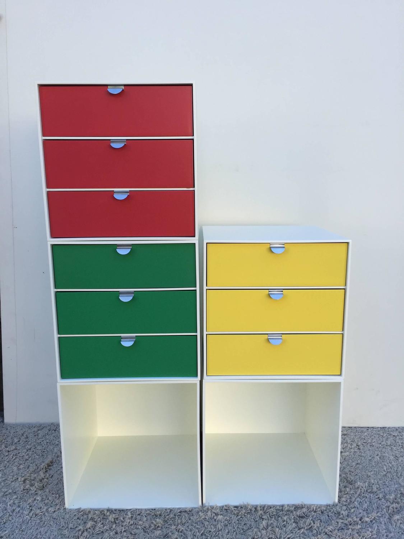 Palaset Ristomatti Ratia Vintage Modular Storage Cubes For