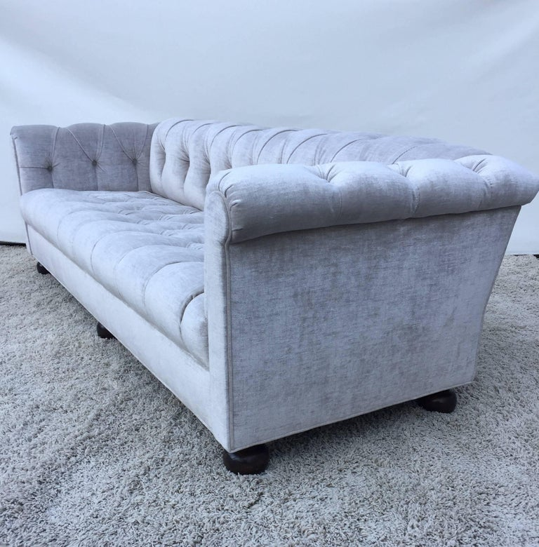 Groovy Chesterfield Custom Sofa Sally Sirkin Lewis Dailytribune Chair Design For Home Dailytribuneorg
