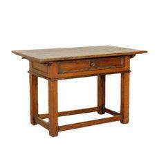 Italian Walnut Writing Table, circa 1700