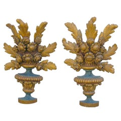 Large Pair of Early 18th Century Sconces