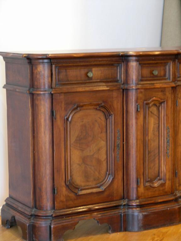 louis philippe walnut enfilade for sale at 1stdibs. Black Bedroom Furniture Sets. Home Design Ideas