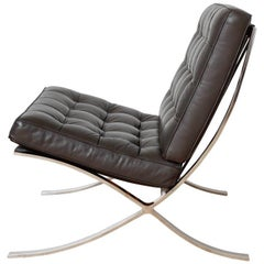 Iconic Barcelona Lounge Chair by Mies van der Rohe