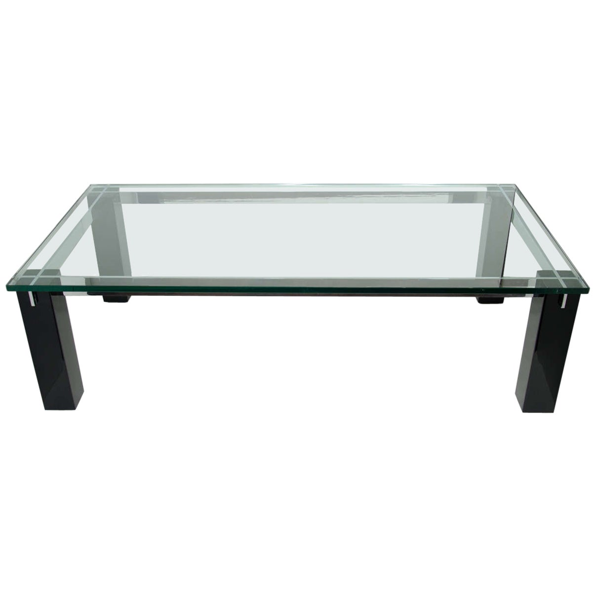 Italian Mid-Century Modern Architectural Coffee Table