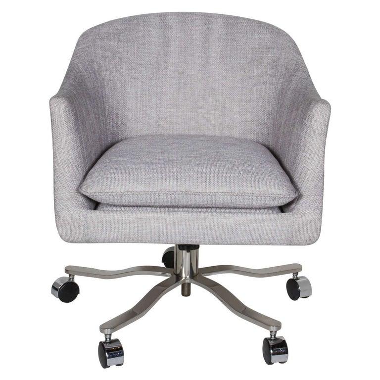 Mid Century Modern Swivel Desk Chair Designed By Ward