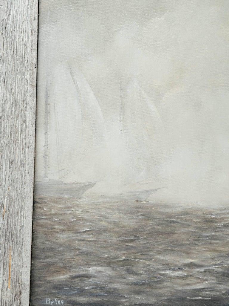 Canvas Mid-Century Modern Impressionism Painting