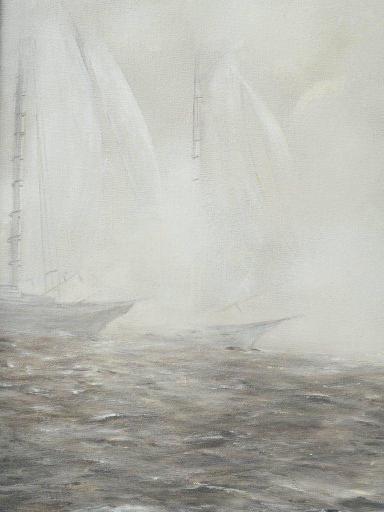 Mid-20th Century Mid-Century Modern Impressionism Painting