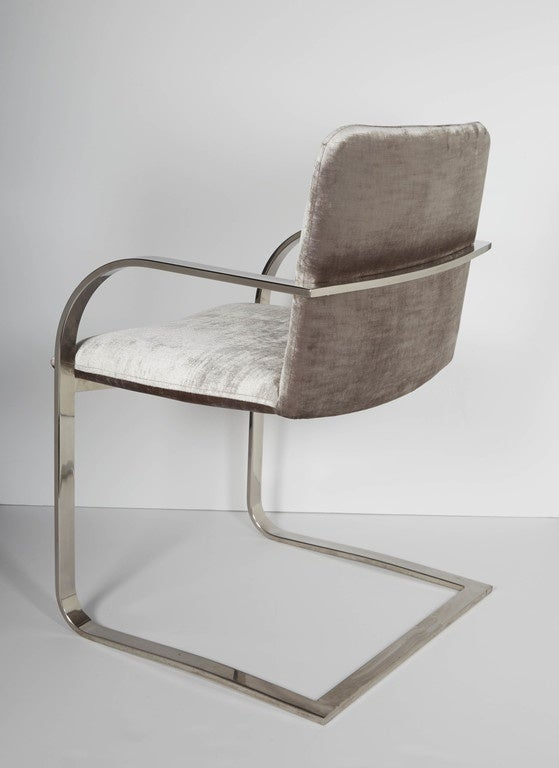 American Pair of Mid-Century Modern Side Chairs or Office Chairs by Brueton