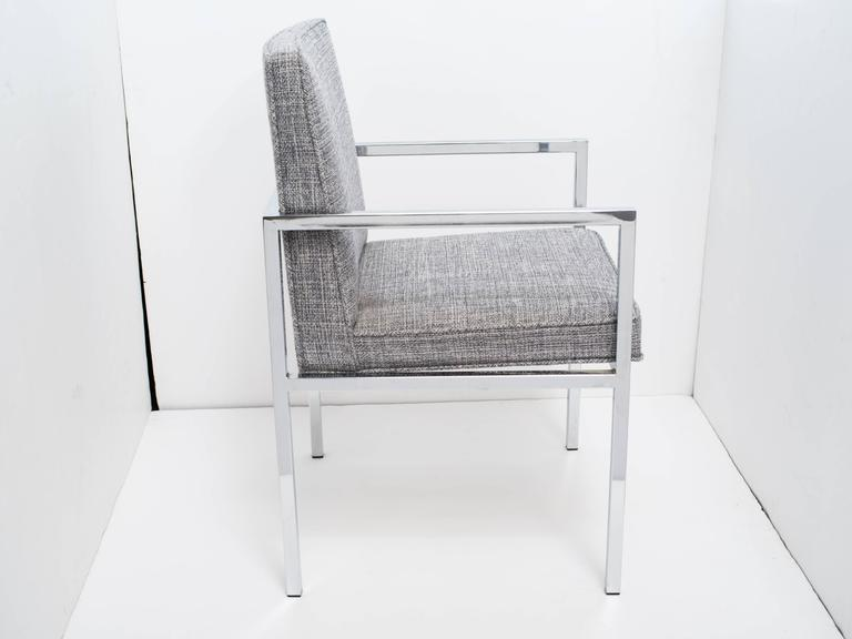 American Milo Baughman Mid-Century Modern Desk Chair For Sale