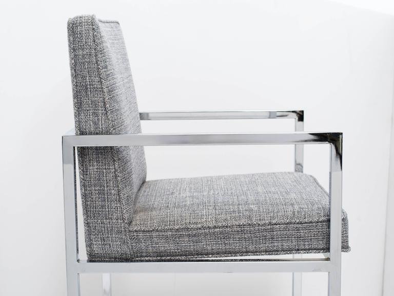 Late 20th Century Milo Baughman Mid-Century Modern Desk Chair For Sale
