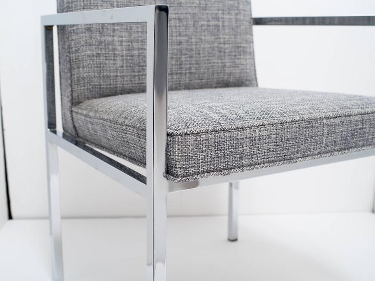Upholstery Milo Baughman Mid-Century Modern Desk Chair For Sale