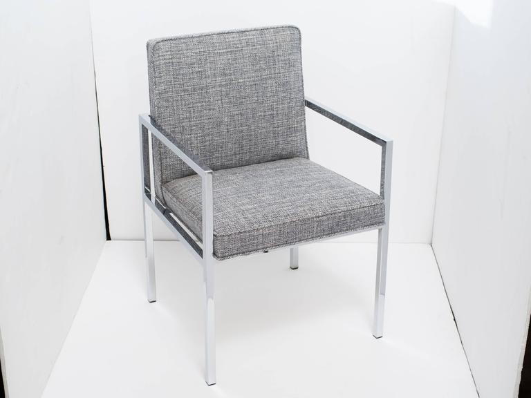 Milo Baughman Mid-Century Modern Desk Chair For Sale 2