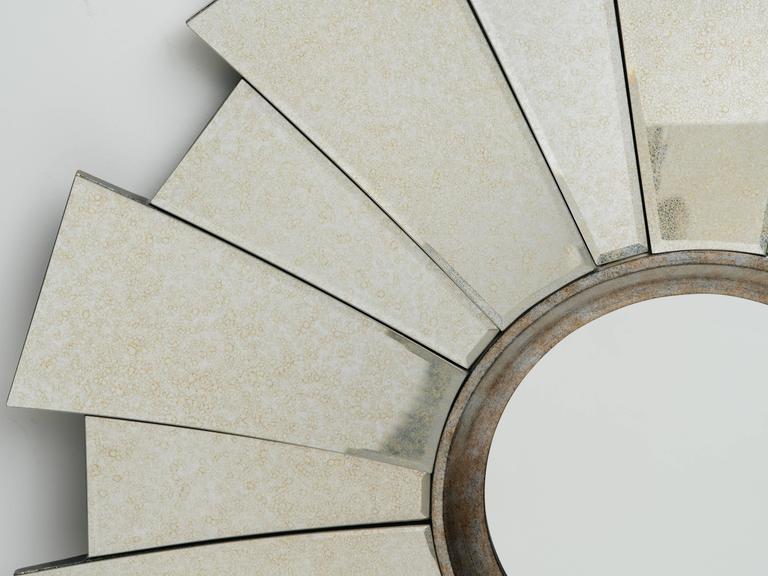 Art Deco Style Sunburst Mirror 2