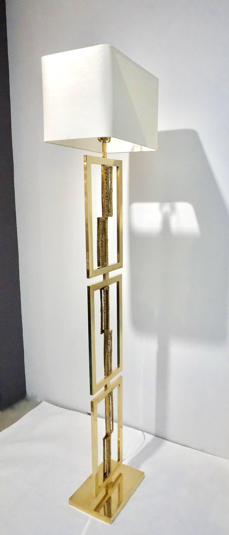 Italian Design Contemporary Cast Bronze And Gold Brass
