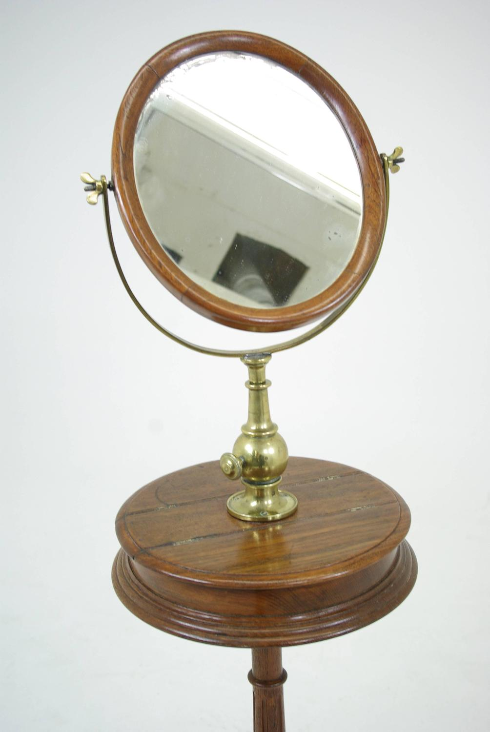Antique Shaving Mirror Stand For Sale At 1stdibs