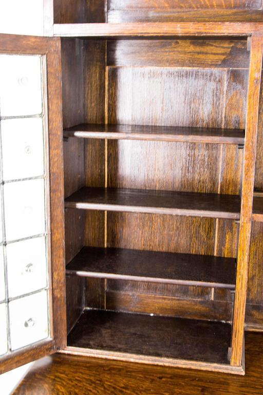 Antique Scottish Oak Welsh Dresser Sideboard Buffet With