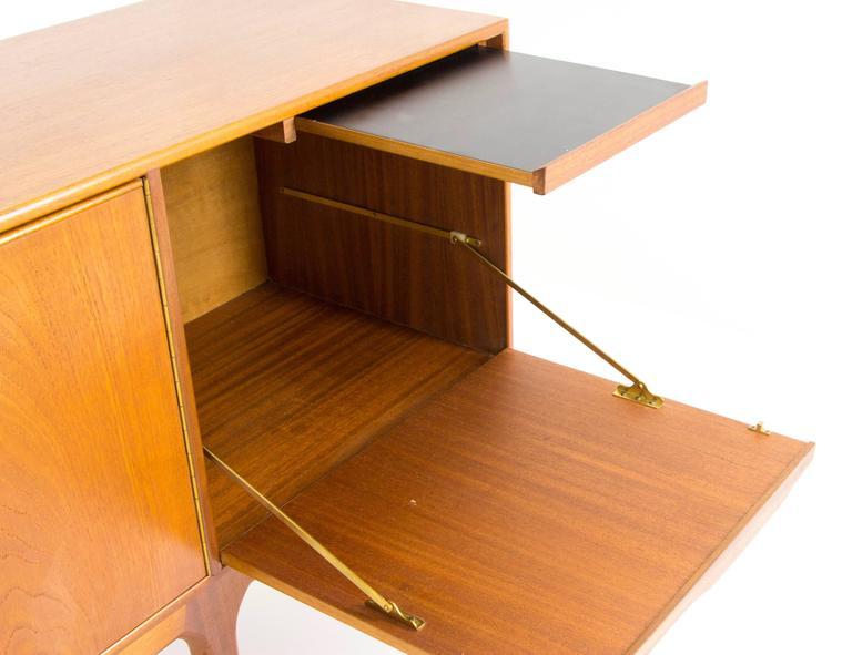 Mid-Century Modern Teak Credenza, Sideboard, Console by A.H. McIntosh 9