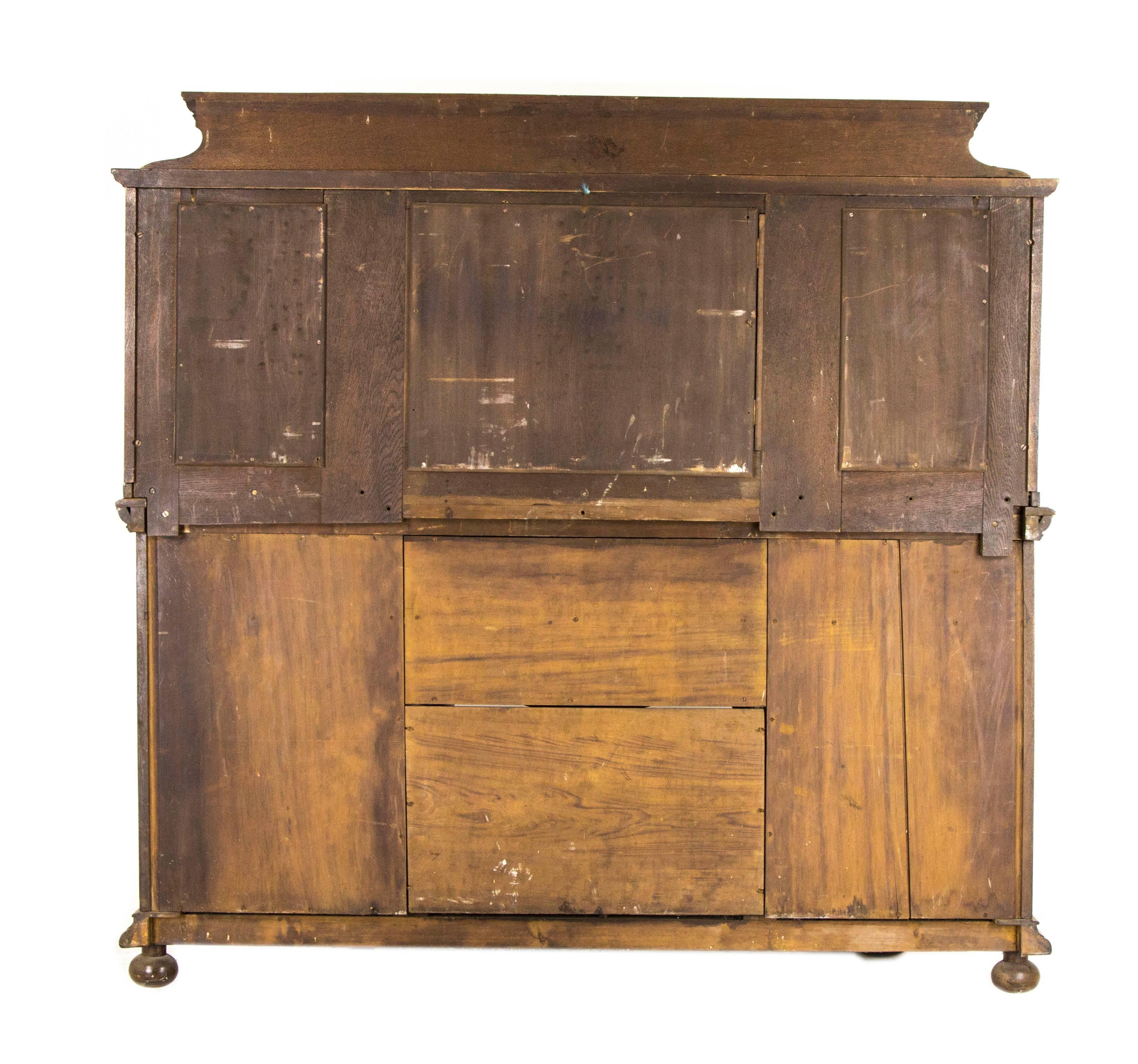 antique oak sideboard victorian oak buffet mirror back sideboard rh 1stdibs com antique oak buffet with mirror antique oak buffet furniture