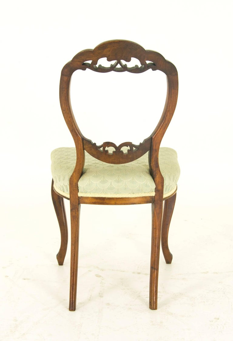 Late 19th Century Balloon Back Chairs Antique Mahogany Chairs Six Mahogany  Chairs For Sale - Balloon Back Chairs Antique Mahogany Chairs Six Mahogany Chairs At