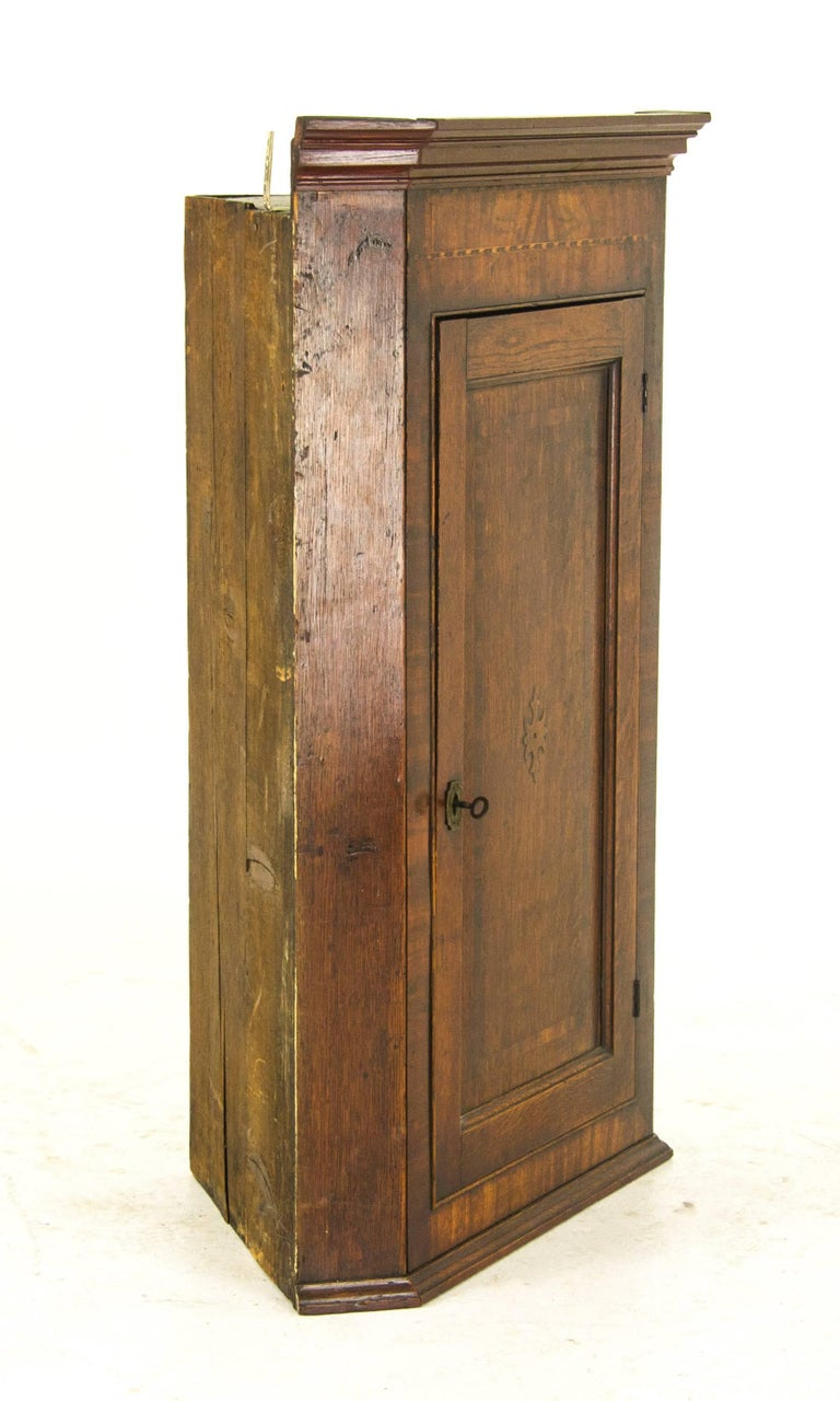 Antique Corner Cabinet Georgian Cabinet Scotland, 1790 at ...