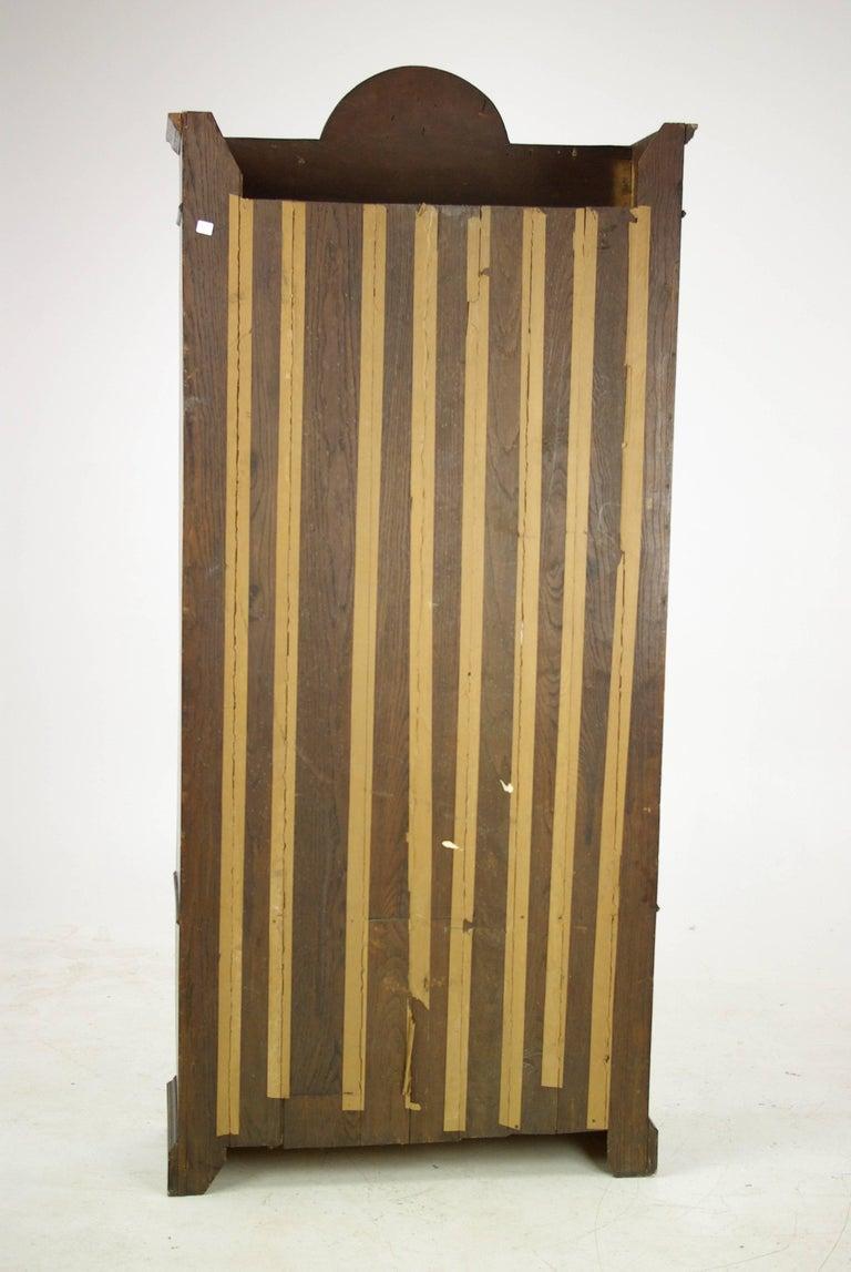 Antique Oak Bookcase, Arts & Crafts Bookcase, Scotland 1910, Antique Furniture For Sale 3