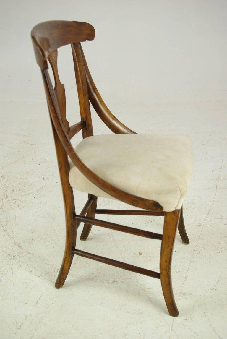 Antique Dolls Chair, Childs Chair, Victorian, Sycamore, Scotland 1880 For  Sale 1 - Antique Dolls Chair, Childs Chair, Victorian, Sycamore, Scotland