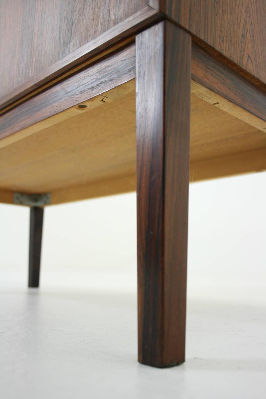 Danish mid century modern rosewood two door cupboard cabinet at 1stdibs - Vancouver mid century modern furniture ...
