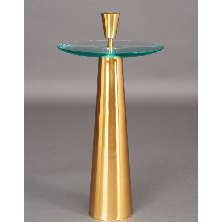 Limited Edition Pair of Roberto Rida Side Tables  2