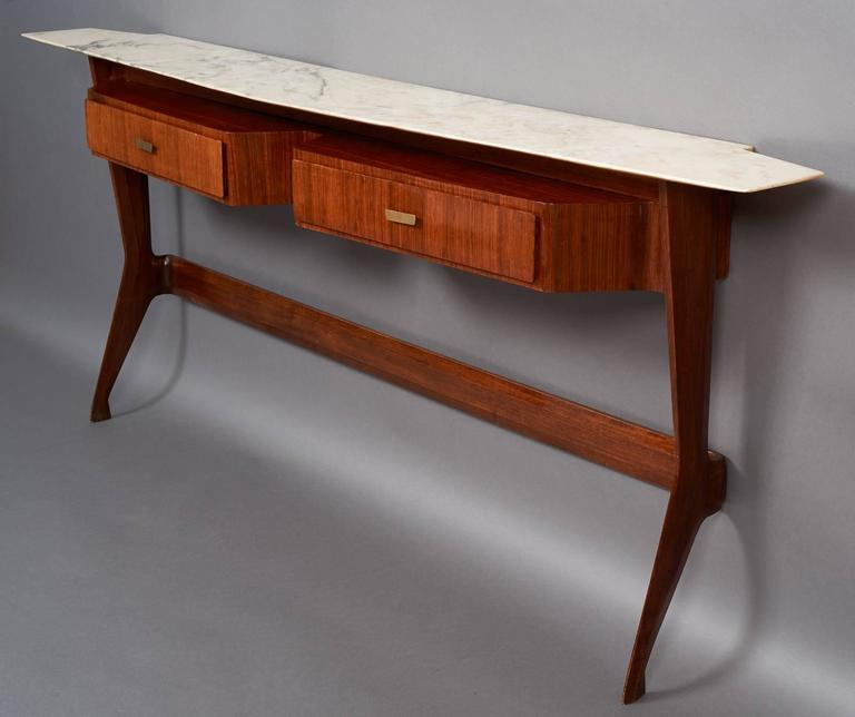 Amazing Sculptural Console in the Style of Ico Parisi, Italy 1950s 4