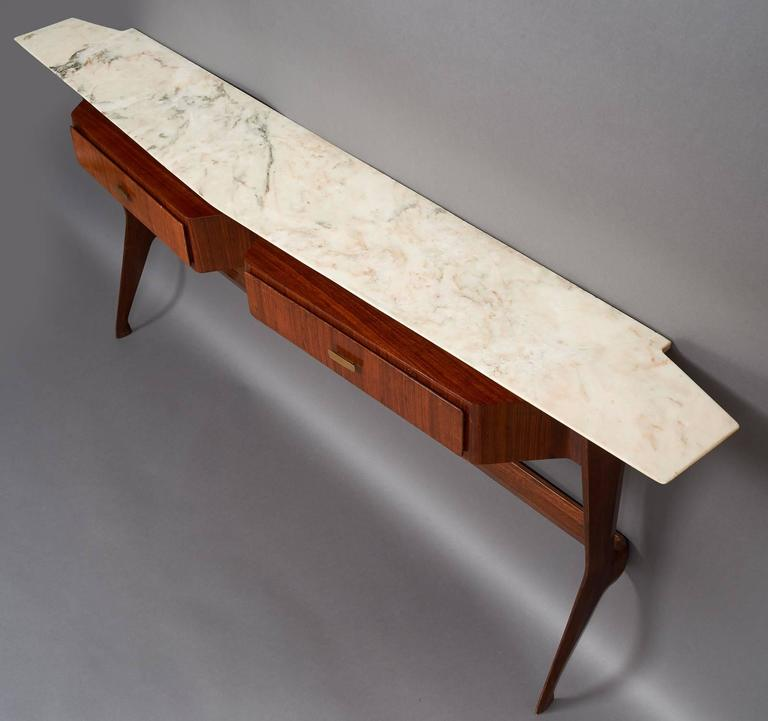 Amazing Sculptural Console in the Style of Ico Parisi, Italy 1950s 3