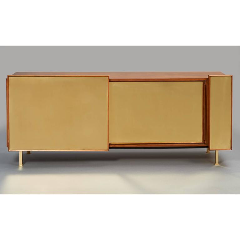 Mid-Century Modern Architectural Asymmetrical Cabinet, France, 1970s For Sale