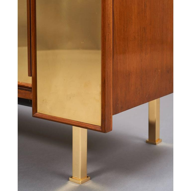 Late 20th Century Architectural Asymmetrical Cabinet, France, 1970s For Sale