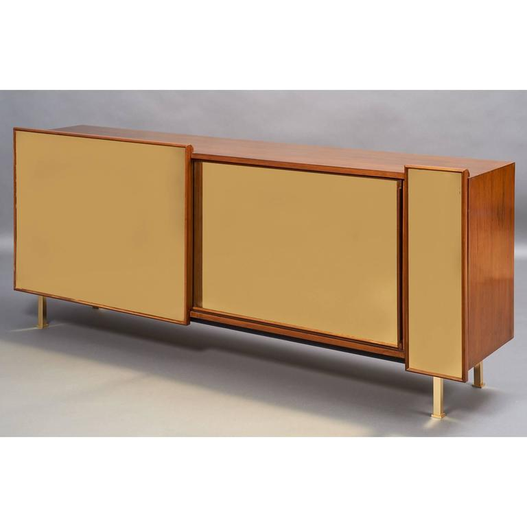 French Architectural Asymmetrical Cabinet, France, 1970s For Sale