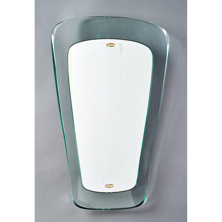 Mid-Century Modern Magnificent Mirror by Max Ingrand for Fontana Arte, Italy, 1950s For Sale