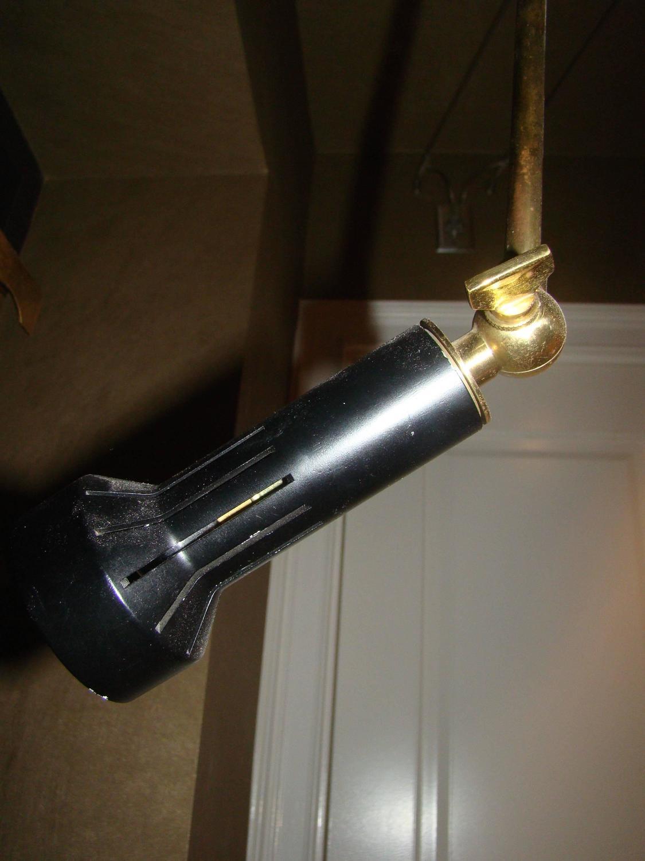 Arredoluce signed adjustable brass easel floor lamp at 1stdibs for Arredo luce