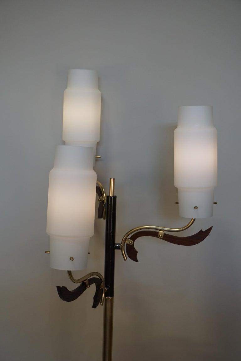 Italian 1960s Stilnovo Style Floor Lamp For Sale 1