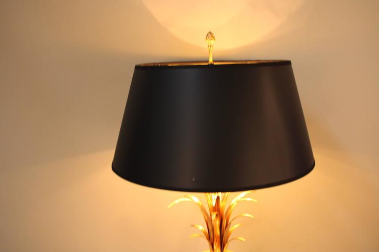 maison charles palm tree table lamp at 1stdibs