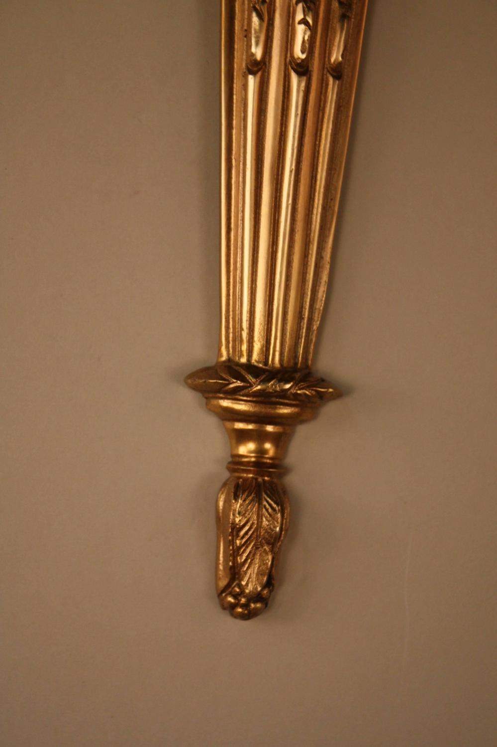 Elegant French Bronze Wall Sconces For Sale At 1stdibs