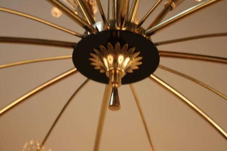 Mid Century Chandelier By Emil Stejnar At 1stdibs