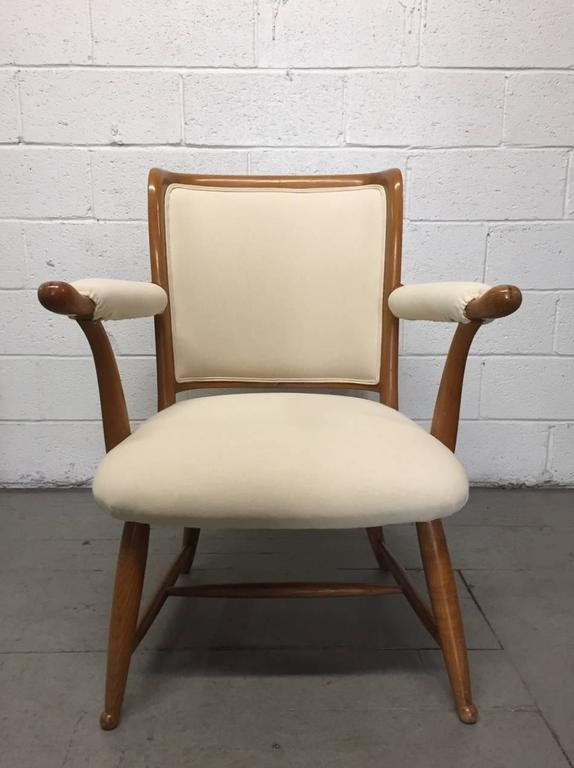 Pair of 1950s French Country Armchairs For Sale at 1stdibs