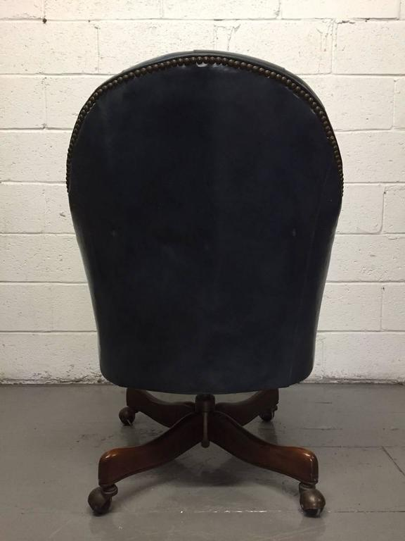 Schafer Bros Tufted Leather Chair 5