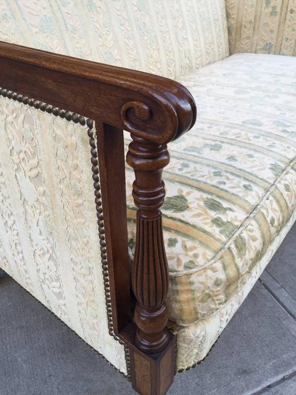 Upholstery Two Regency Style Sofas For Sale