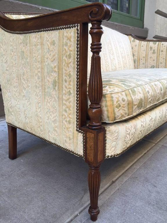 Two Regency Style Sofas In Good Condition For Sale In New York, NY
