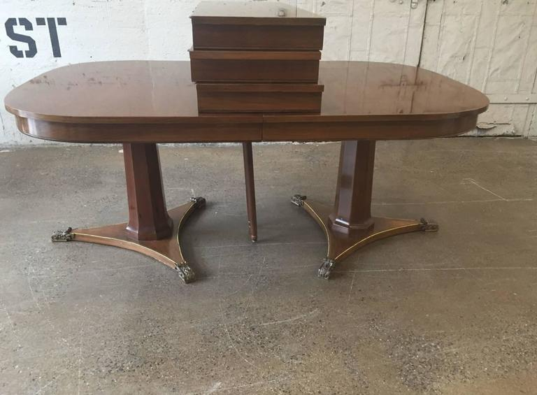 large dining room table by baker for sale at 1stdibs large dining room table by baker for sale at 1stdibs