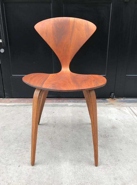 four vintage cherner chairs for plycraft 2